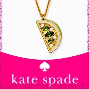 New Kate Spade out of office lime mini pendant